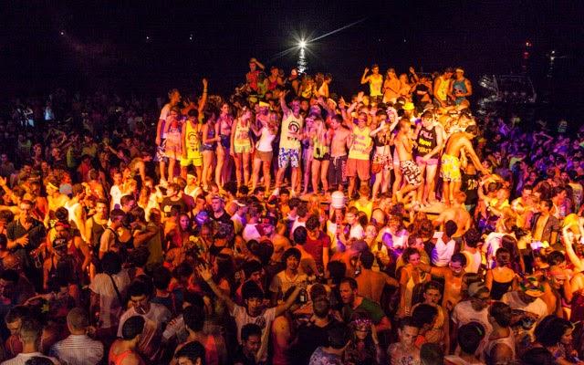 Full Moon Party à Koh Phangan