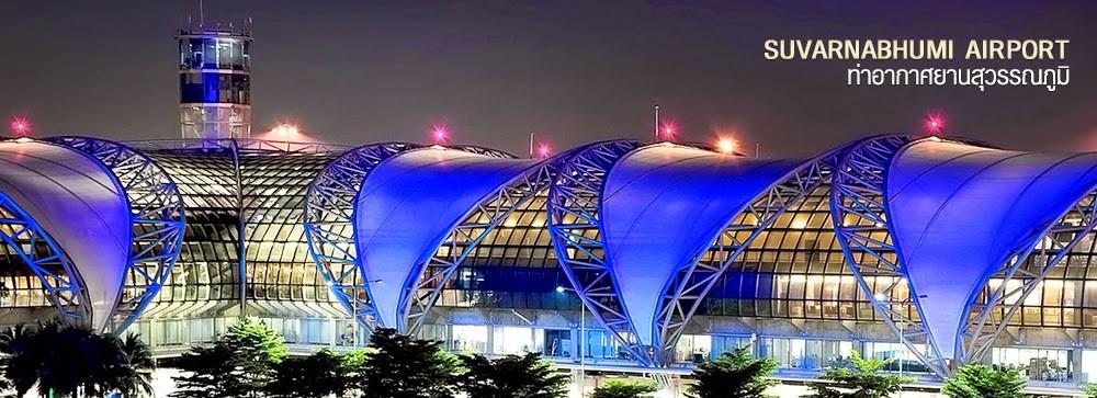 Aéroport International de Bangkok - Suvarnabhumi Airport