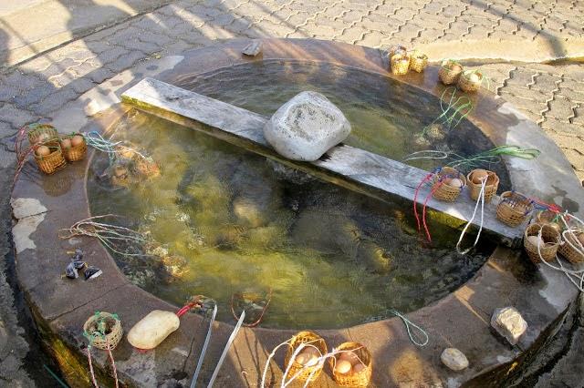 Sources d'eau chaude de San Kampaeng - Bassin de cuisson