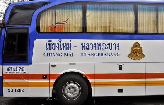 Traverser la frontière Thaïlande/Laos à Chiang Khong - bus chiang mai à luang prabang
