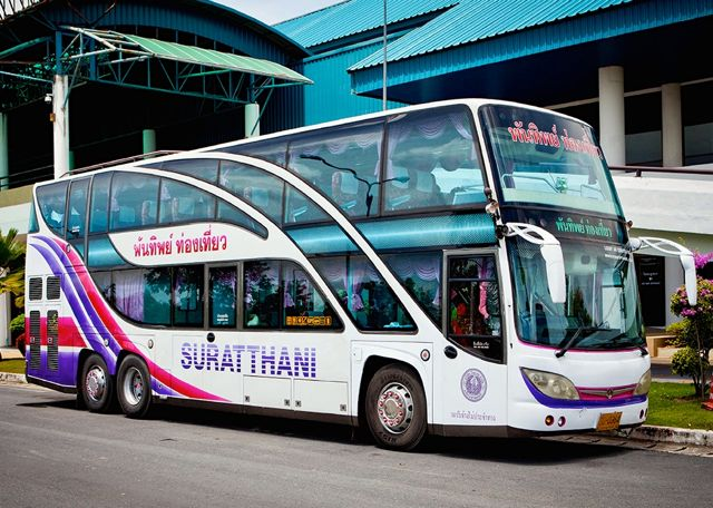 Comment aller de Krabi à Suratthani, Koh Tao ou Koh Phangan - Navette à l'aéroport de Suratthani