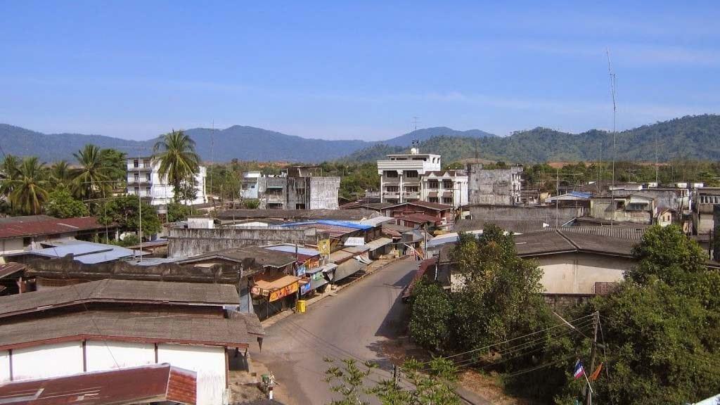 Découvrir la province de Trat - Vue de la ville