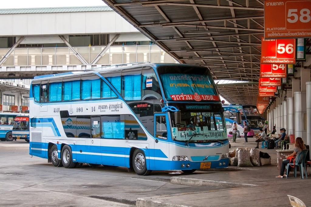 La gare routière du sud de Bangkok