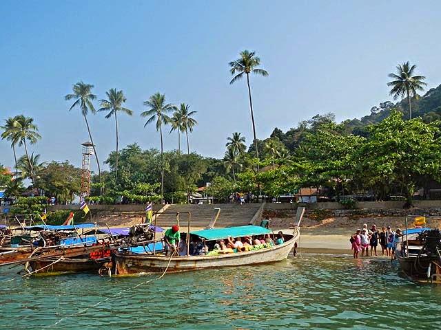 Ao Nang, la plage de Krabi