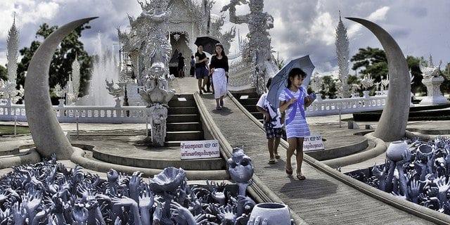 A faire à Chiang Rai en 3 jours - Temple Blanc de Chiang Rai