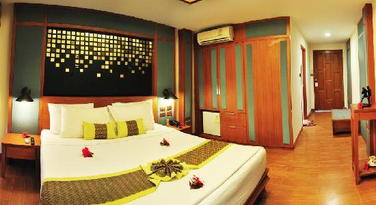 Top 10 des hôtels pas chers à Koh Phi Phi - Erawan Palms Resort
