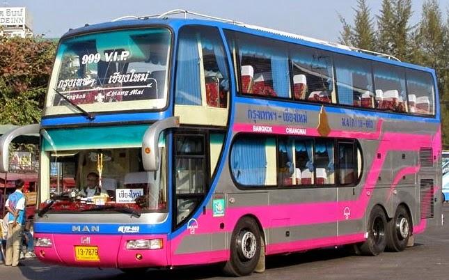 Comment aller à Pai - bus allant de Bangkok a Chiang mai