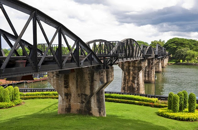 Comment aller de Bangkok à Kanchanaburi - fameux pont de la rivière Kwaï