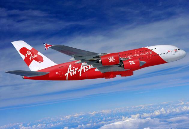 vols pas chers pour Krabi - avion Air Asia