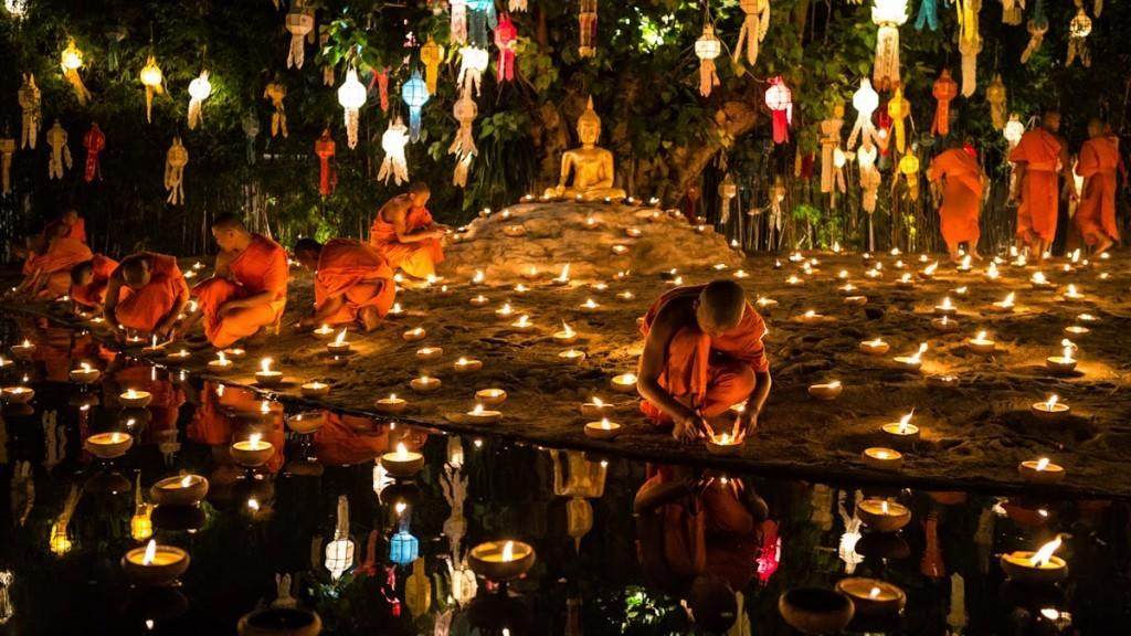 Festivals à Chiang Mai - Loy Krathong