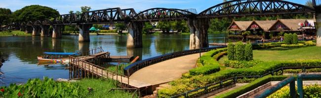 Guide de Kanchanaburi - Pont de la rivière Kwai