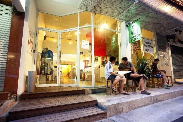 auberges ou dortoirs les plus populaires à Bangkok - devanture d'une auberge
