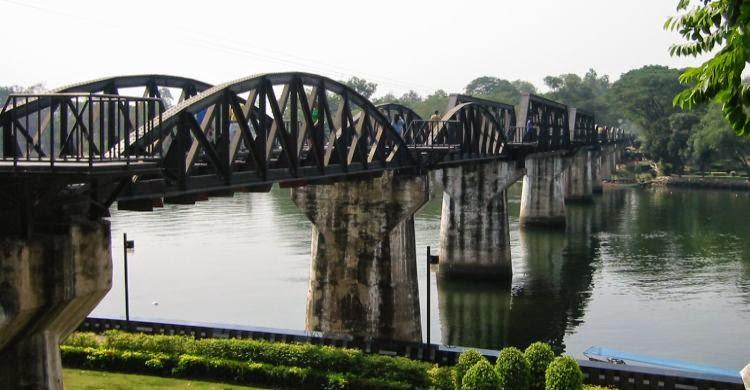 Top 8 des hôtels pas chers à Kanchanaburi - fameux pont de la rivière Kwaï
