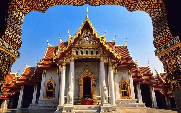 Haute saison en Thaïlande - Temple