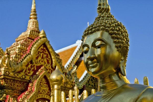8 bonnes raisons de découvrir Chiang Mai - Bouddha au Wat Doi Suthep