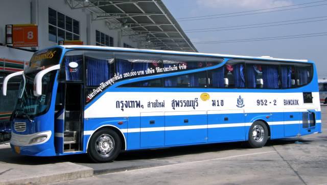 Comment aller de Kanchanaburi à Krabi, Koh Lanta ou Koh Phi Phi - Bus au départ de Kanchanaburi