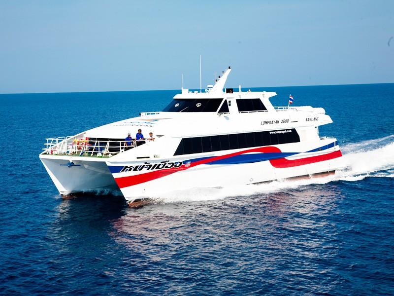 Comment aller de Koh Tao à Koh Phi Phi, Krabi, Railey, Khao Sok ou Koh Lanta - bateau rapide