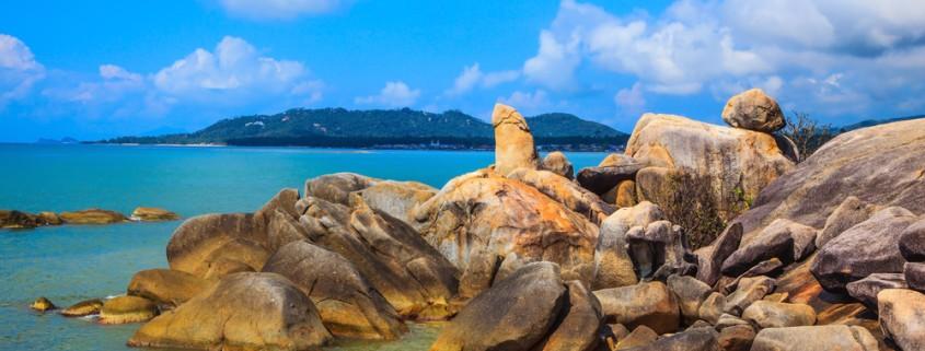 Que faire à Koh Samui - Hin Tai et Hin Yai rocks