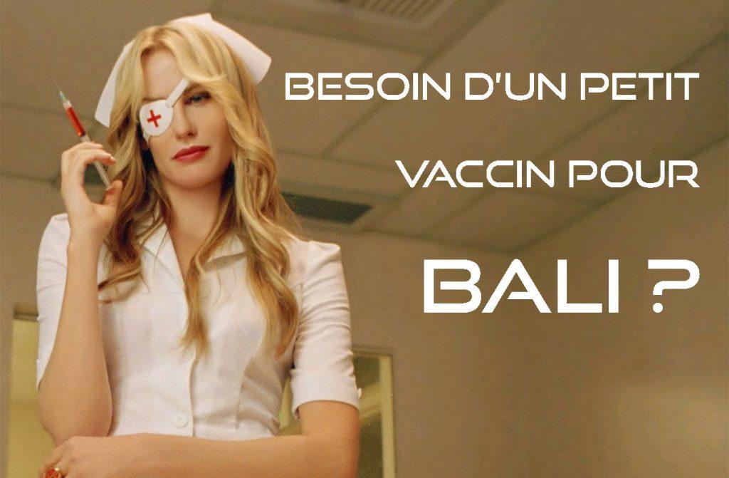 vaccins pour Bali: quels vaccins pour voyager en Indonésie? - Image reprise de Elle Driver de Tarantino