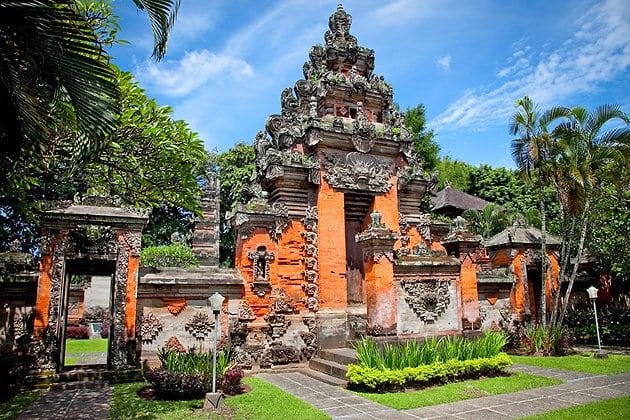 Top 5 hôtels pas chers à Denpasar - photo d'un temple