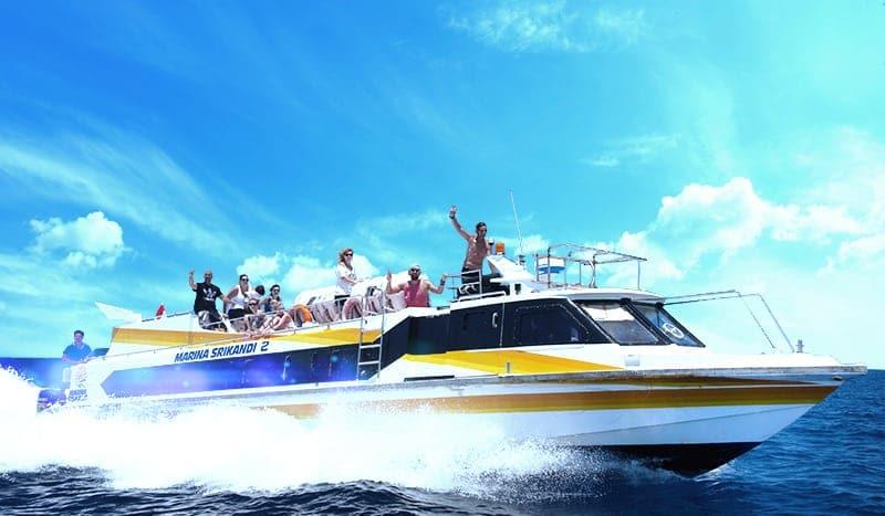 Comment aller dans les Îles Gili - speed boat