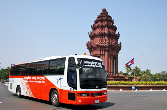Comment réserver un bus au Cambodge