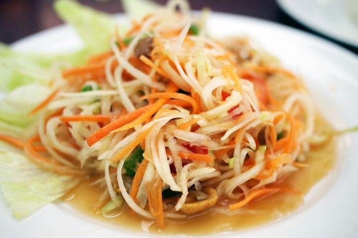 Top 10 de la cuisine thaïlandaise - Som Tam