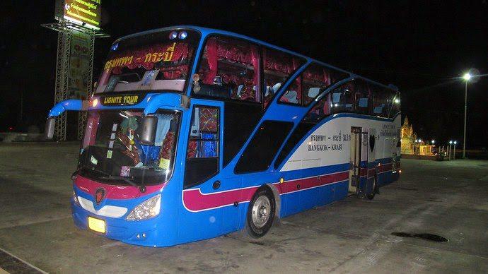 Bus pour aller de Bangkok à Krabi