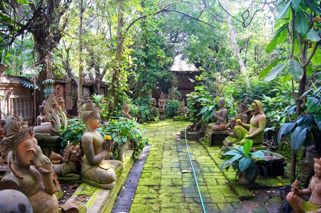 Le jardin de terracotta de Chiang Mai