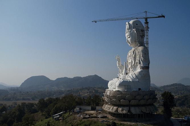 le Bouddha géant de Chiang Rai