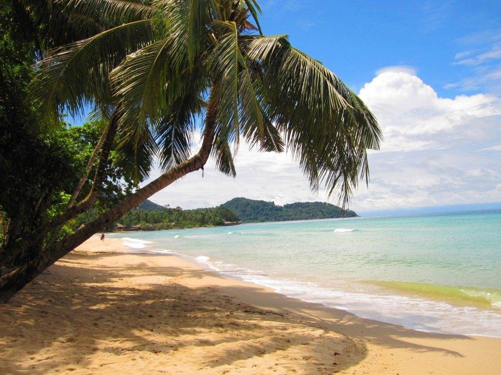 Comment aller à Koh Chang - plage