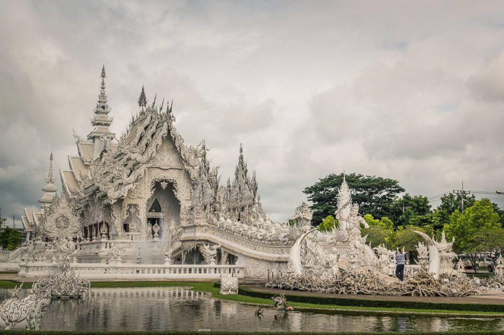 Sept raisons de venir à Chiang Rai - Le Wat Rong Khun ou Temple Blanc