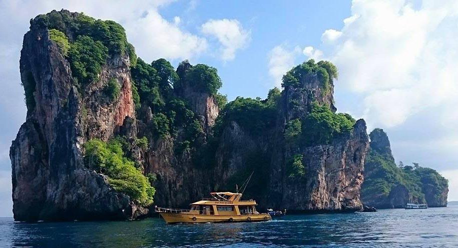 Cours de plongée à Koh Phi Phi - Site de plongée