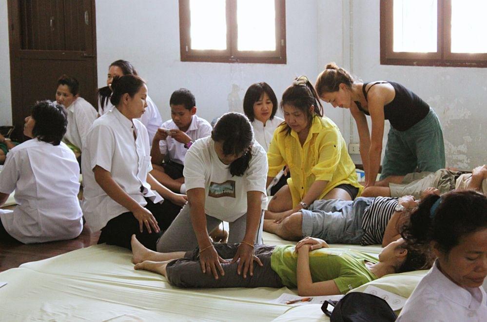 Cours de massage thaïlandais à Bangkok