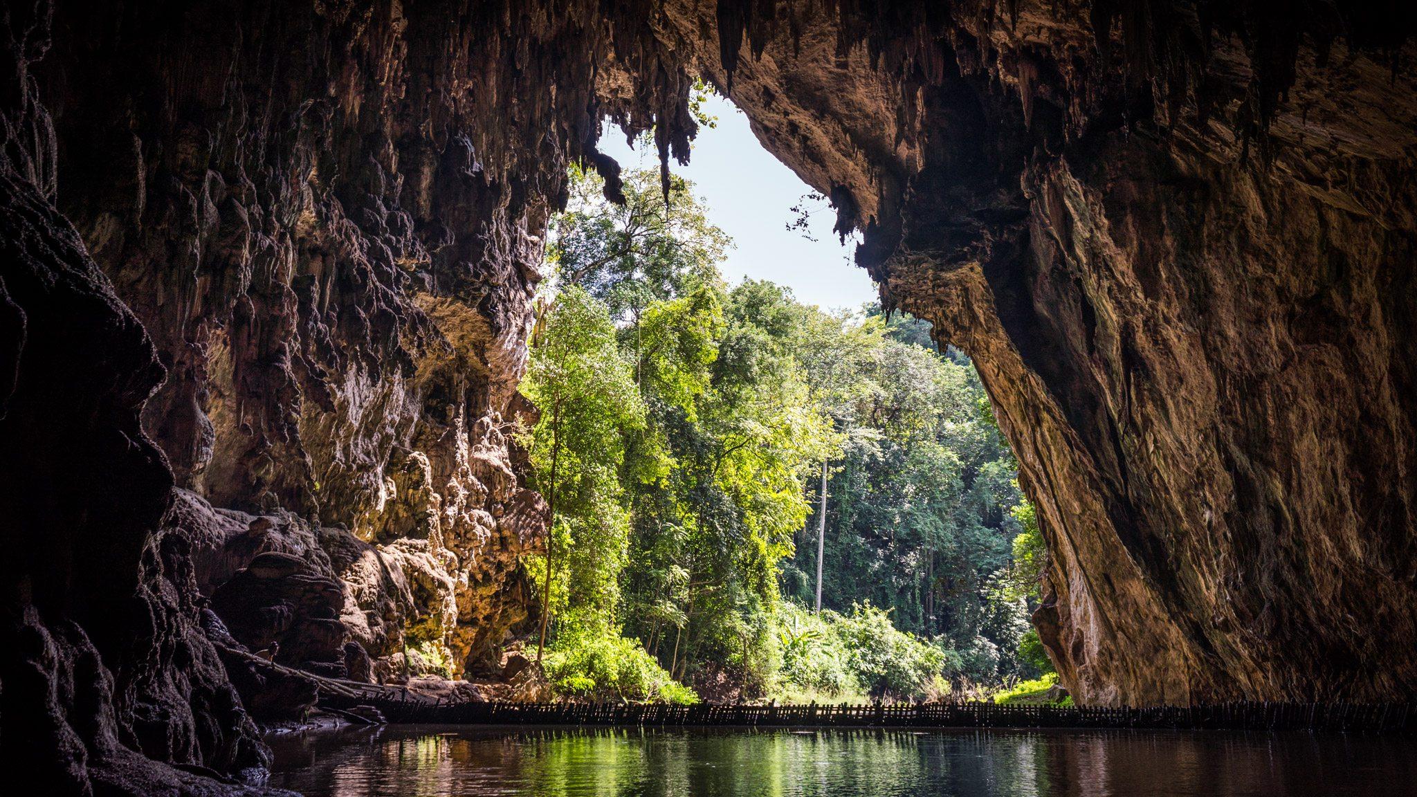 soppong : grotte de Tham Lod