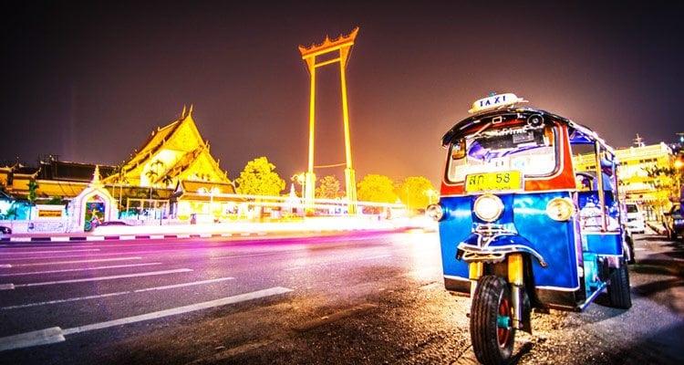 Bangkok en Tuk tuk
